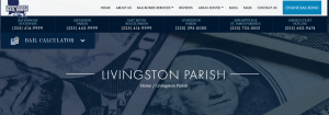 Livingston Parish bail bonds